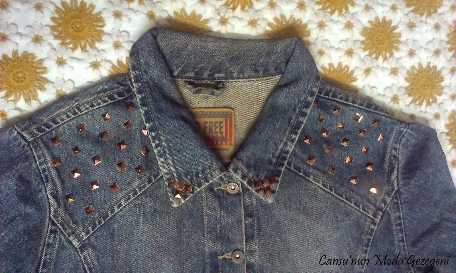 Zımbalarla Ceket Süsleme