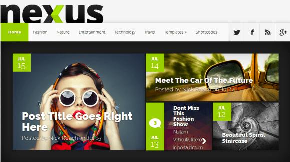 Download Nexus WordPress Theme free-ElegantTheme
