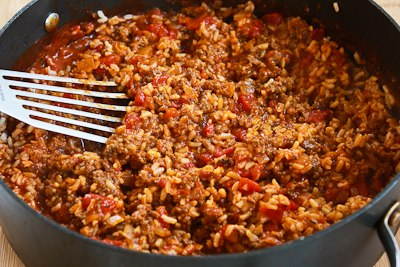Deconstructed Stuffed Cabbage Casserole - Kalyn's Kitchen