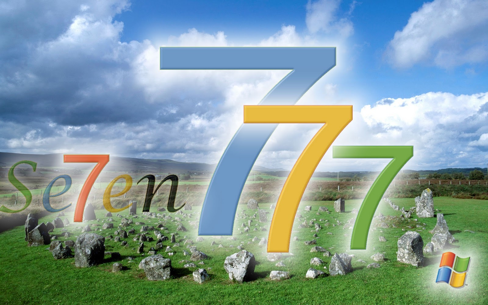Windows Seven 7 Original Wide HD For Desktop