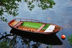 Das Boot des Flusses...