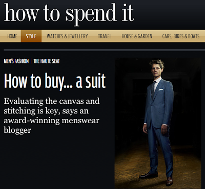 Latest piece on How to Spend It