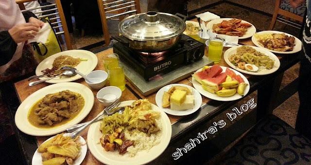 Bufet Ramadan di The Cacao Palace Restaurant, Hotel Emas Tawau