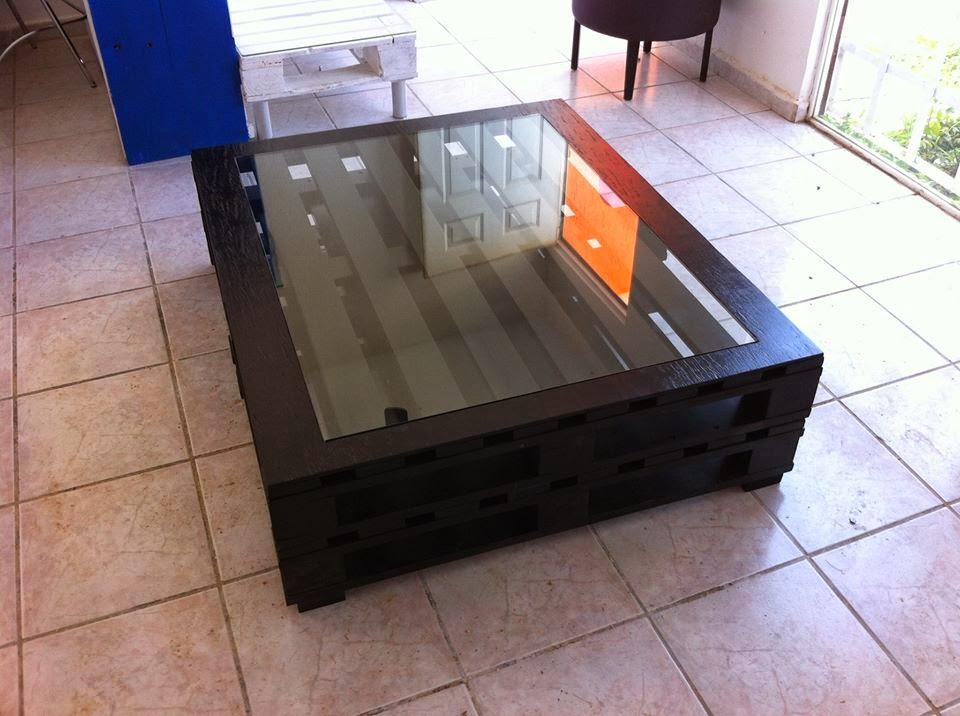 Hazte unos muebles de palets taringa - Mesa de palets bricolaje ...