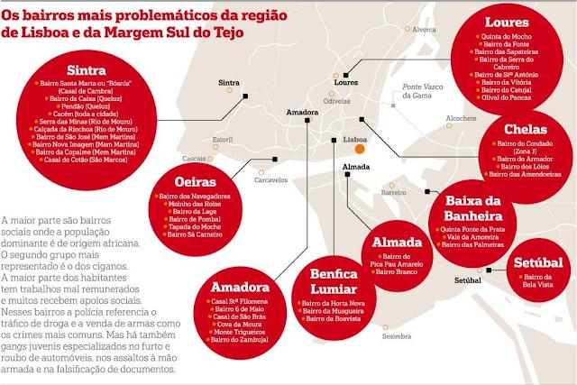 freguesias e bairros a evitar em Lisboa