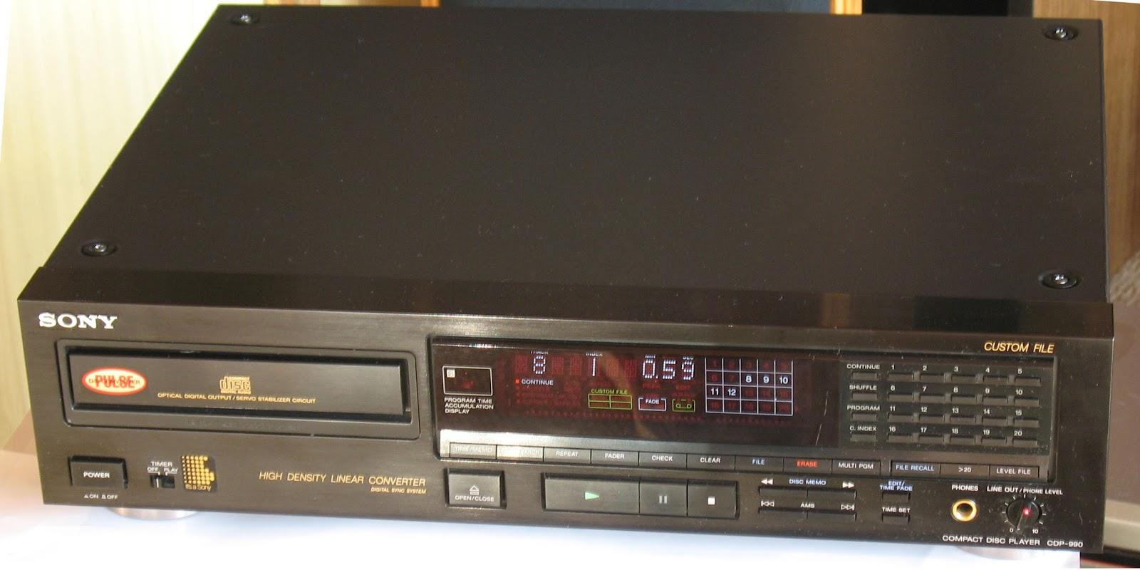 Sony CDP-990 - CD Player | AudioBaza