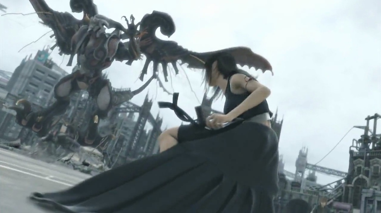 ff7 advent children bahamut - photo #9