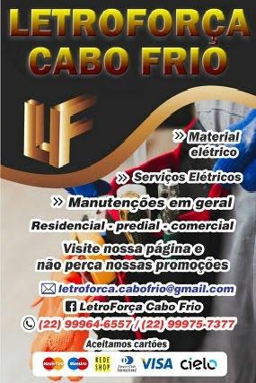 LETROFORÇA CABO FRIO