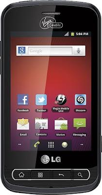 LG Optimus Slider Smartphone