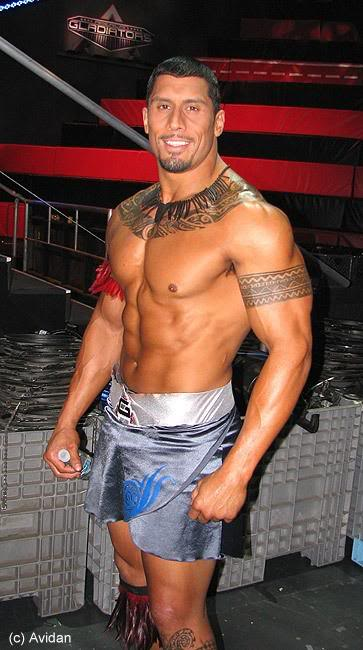 American gladiator porn actor
