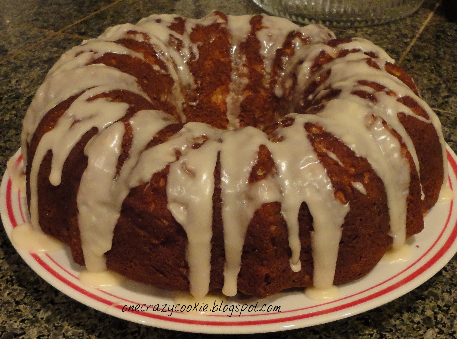 Washington State Apple Cake Recipe