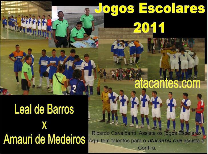 Leal de Barros e Amauri de Medeiros (Clik na foto e veja o vídeo).