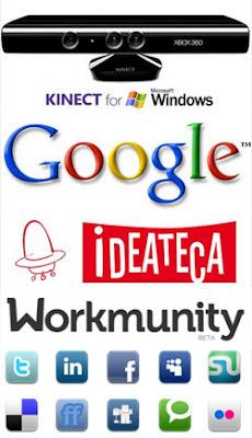 Kinect para Windows, Ideateca, Workmunity, privacidad en Google y adicción a redes sociales