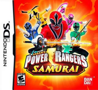 Power Rangers Samurai nds rom