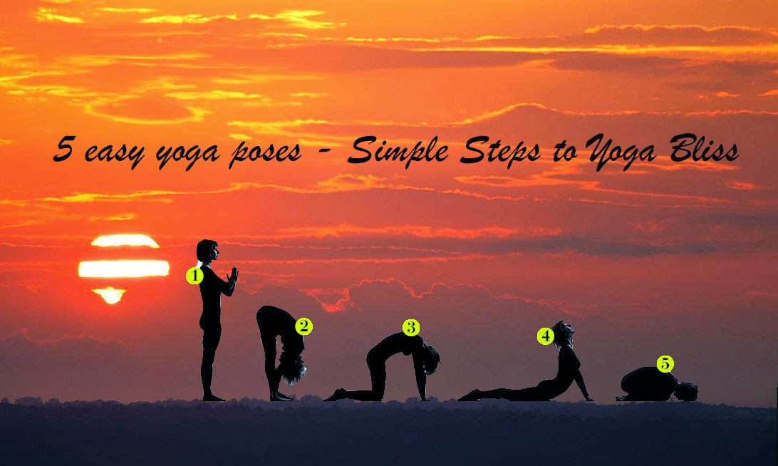 5 Simple Yoga Poses - Simple Steps to Yoga Bliss - Part II