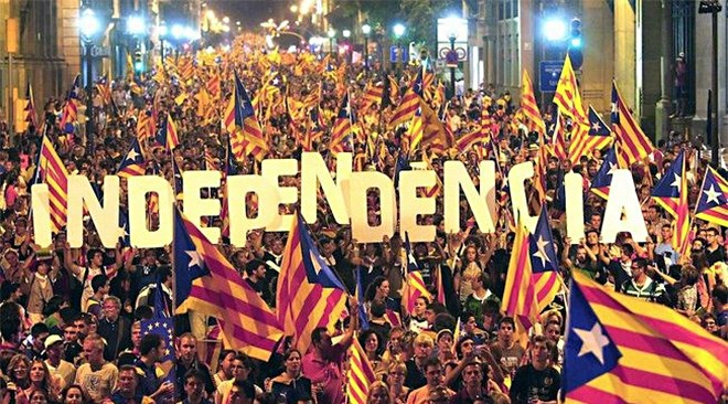 CATALONIA IS FREE: DECLARES INDEPENDENCE FROM SPAIN