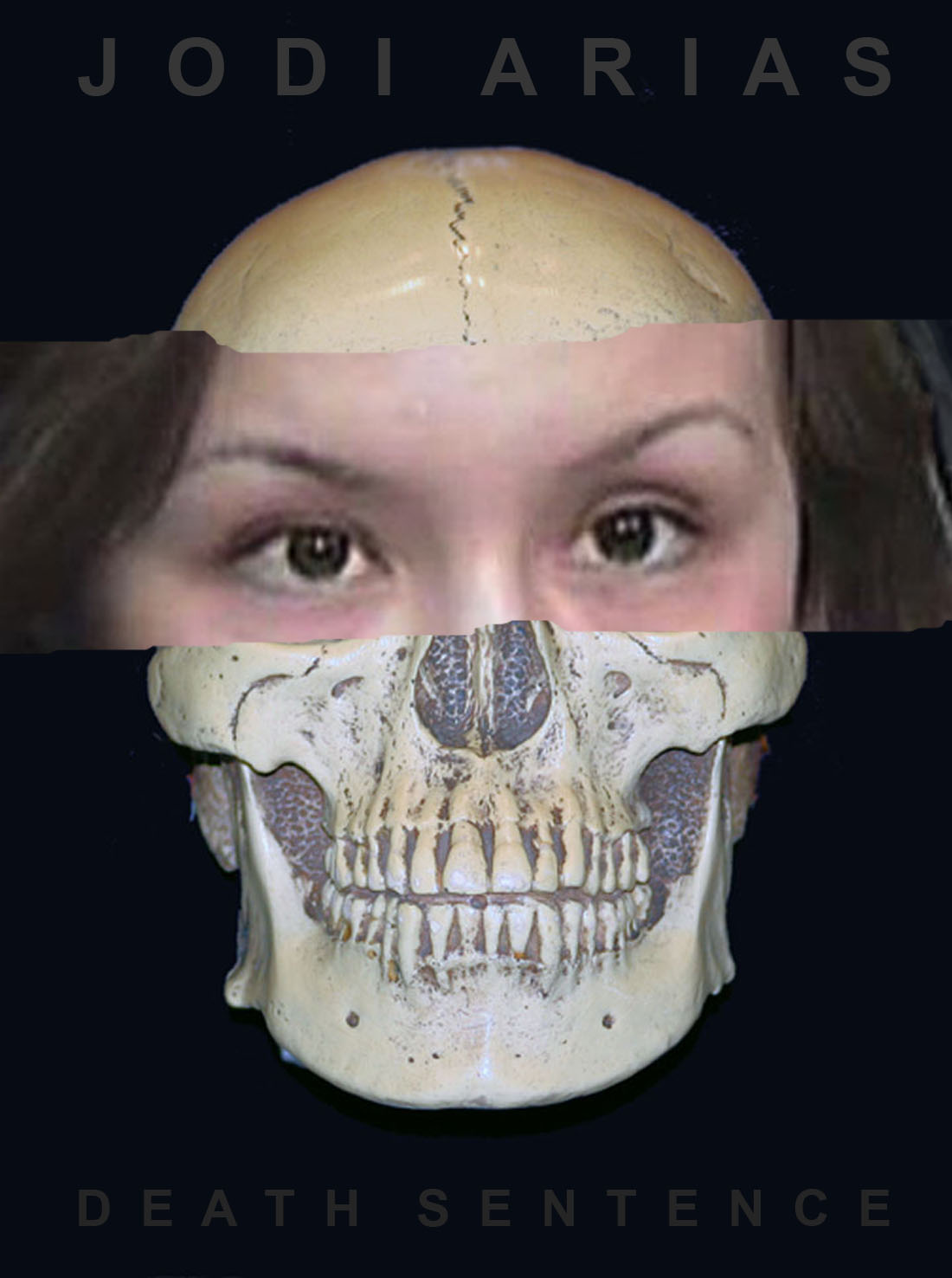 Jodi Arias life/death mask (illustration by Eponymous Rox)