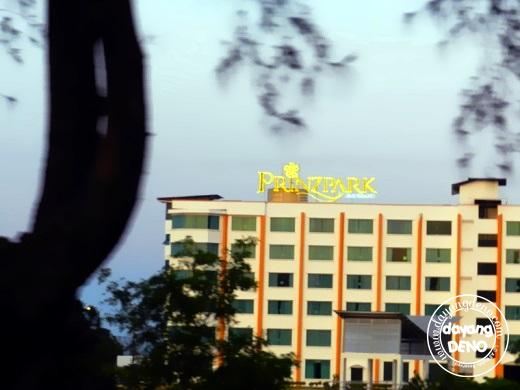 Berehat di PrinzPark Hotel, Kuala Terengganu