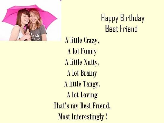 Funny Birthday Wishes For Best Friend Images ~ Funny love sad birthday sms happy wishes to best