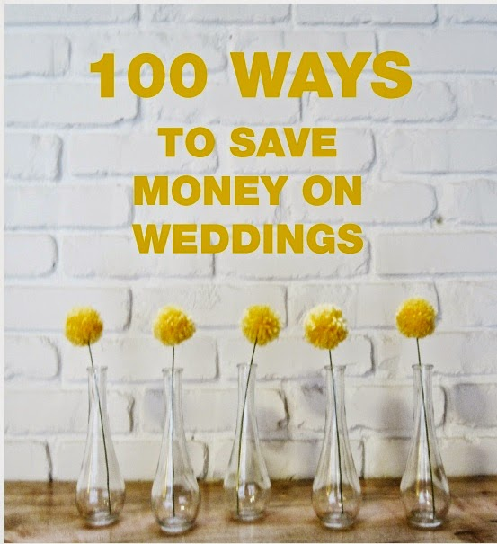100 Ways on How to Save Money On your Wedding