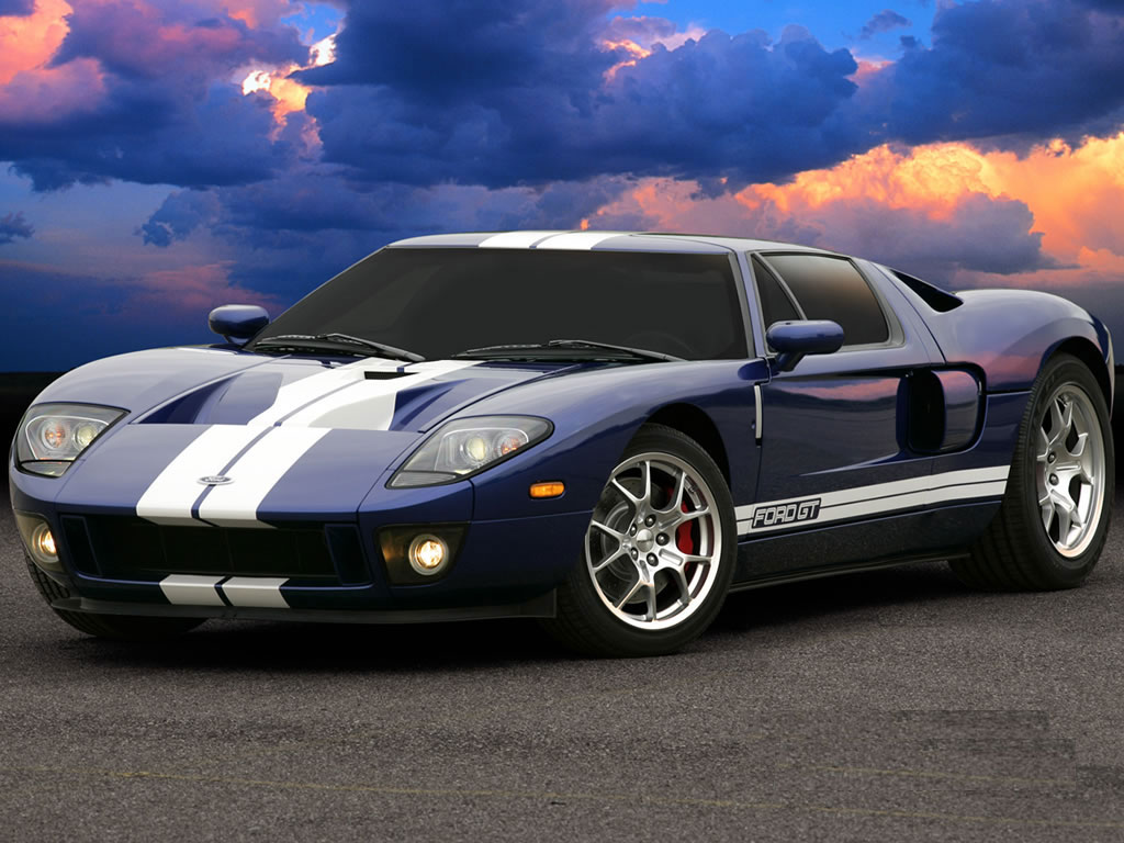 Cars   Latest Car   Car Wallpapers: Ford GT Sports Cars Wallpaper 2012