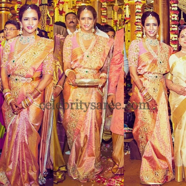 Lakshmi Manchu at Manoj Wedding