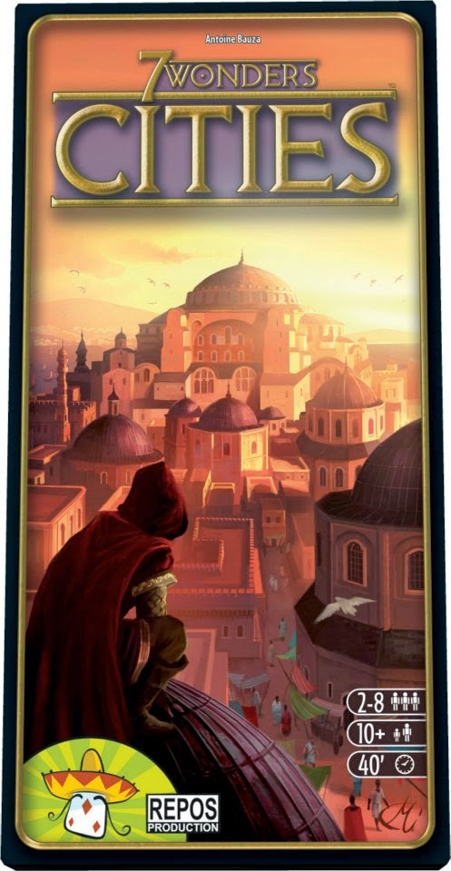 Portada de 7 Wonders: Cities