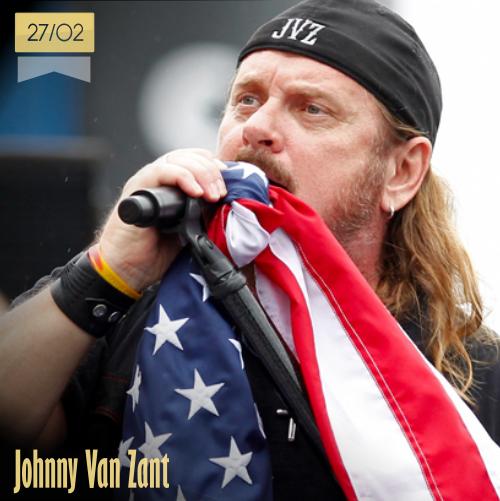 27 de febrero | Johnny Van Zant - @Skynyrd | Info + vídeos