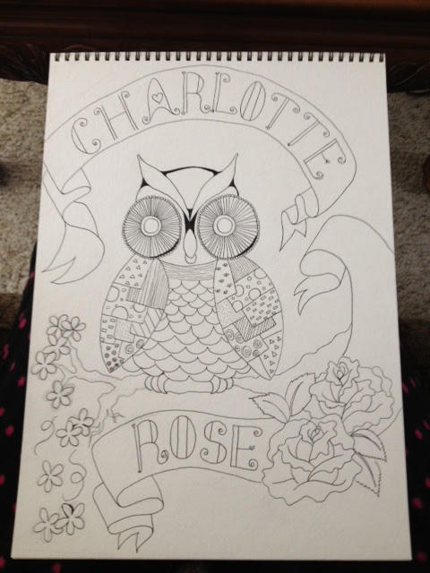 Charlotte Rose Owl step 2 pen
