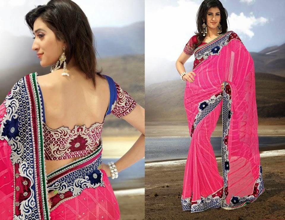 Latest Saree Blouse Designs 2013