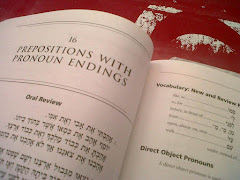 Hebrew study book