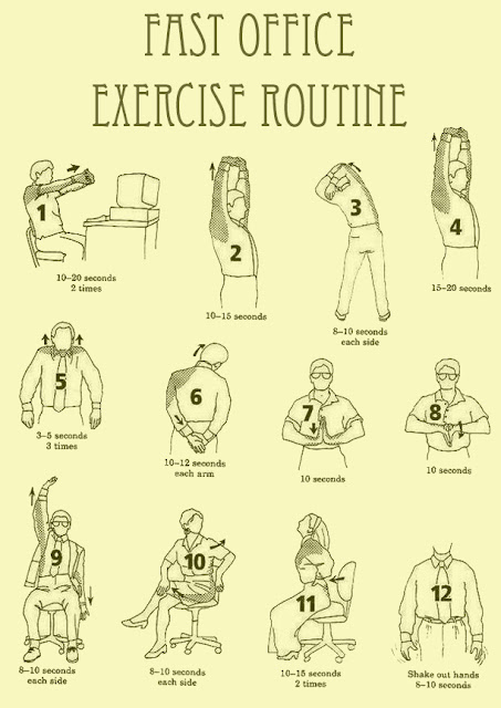 Fast Office Exercise Routine