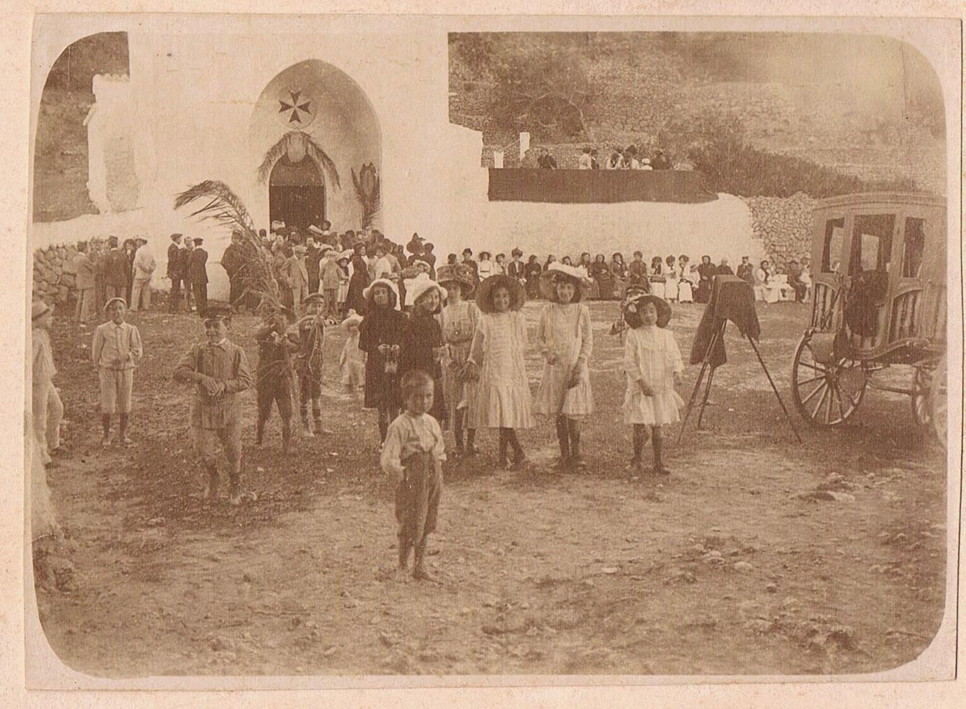 Menorca, IMATGES D´EN PRIMER: Ciutadella. bwin 5 euro bwin Newsletter Retrat de fieta, any 1925