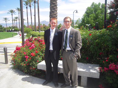 At the Redlands Temple