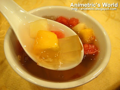 Herbal Lemongrass with Mixed Fruits at King Chef