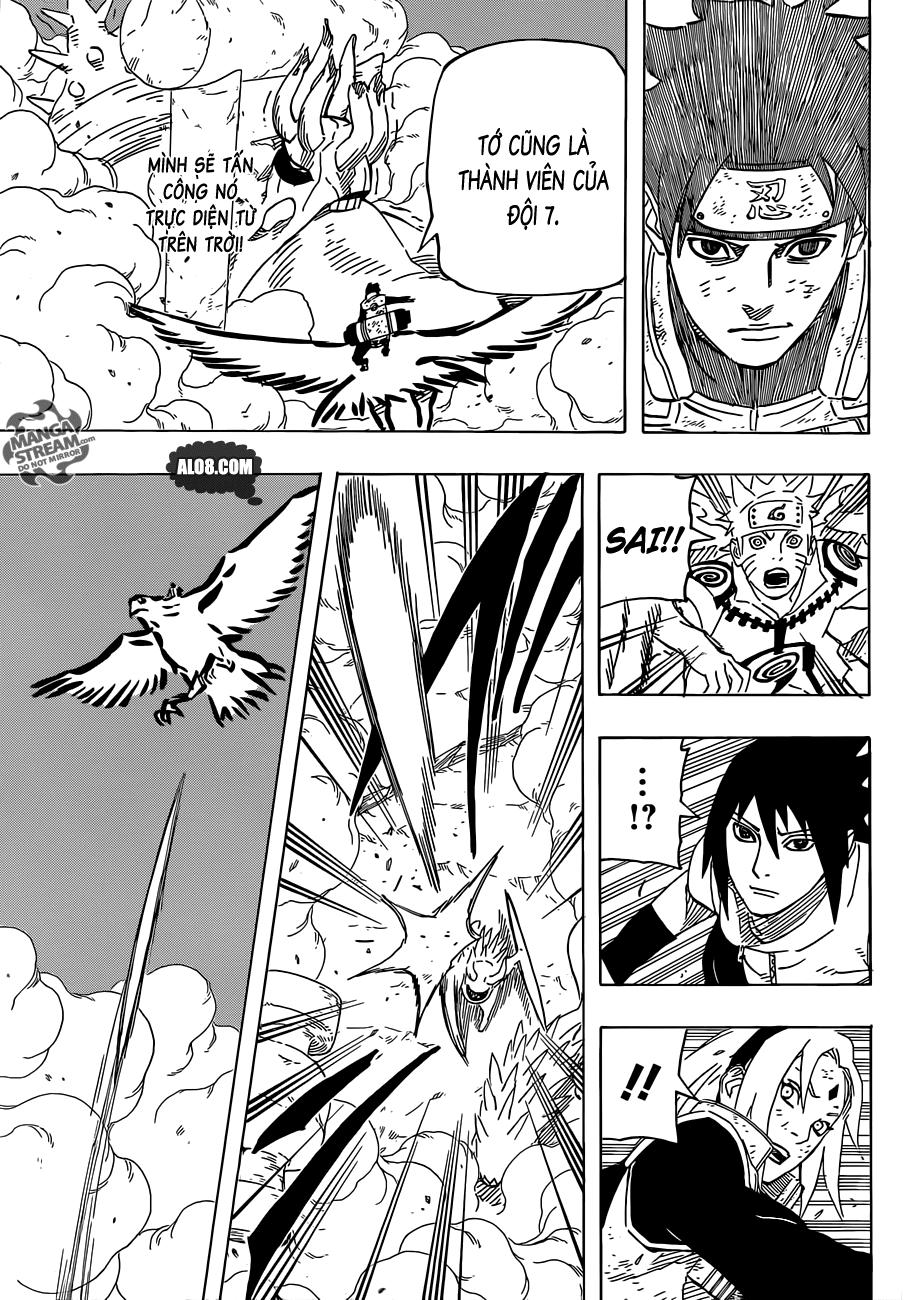 Naruto chap 633 Trang 13