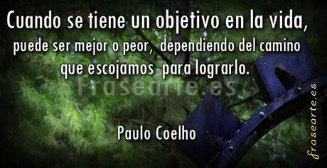 Frases motivadoras, Paulo Coelho