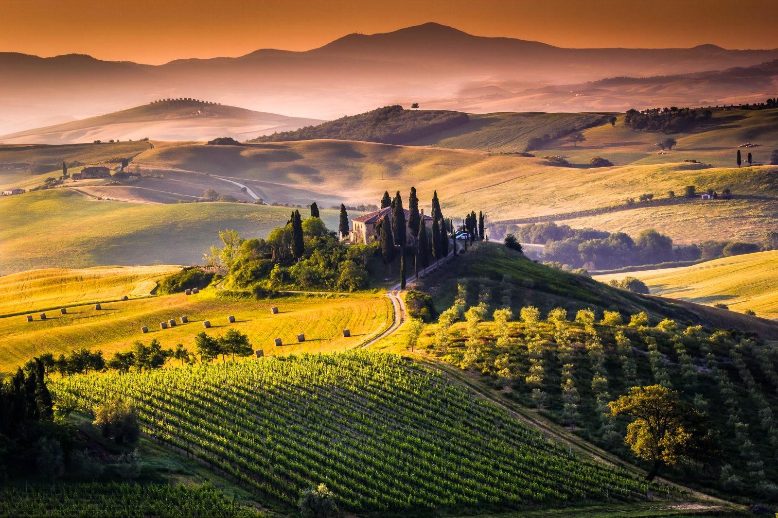 италия тоскана фото