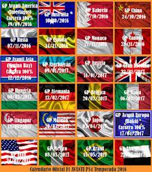 Calendario Avanti F1