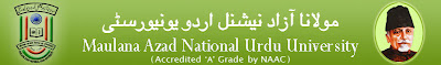 Maulana Azad National Urdu University B.Ed II Year Results