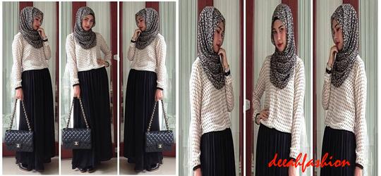 Baju Muslim Untuk ke Kantor OfficeLook2