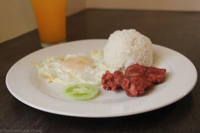 Filipino Breakfast - Chorizo