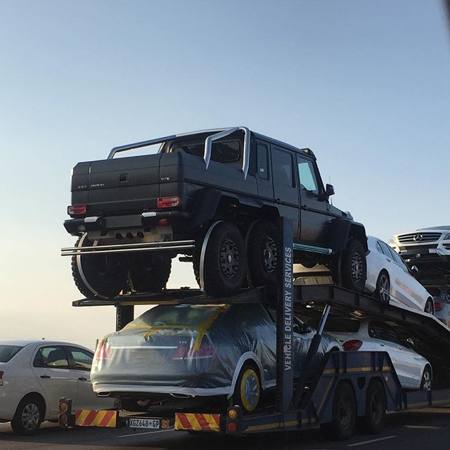Mercedes Benz G63 Amg 6x6 S Steam Roll Into South Africa