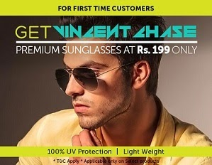 Lenskart Offer: Vincent Chase Premium Sunglasses for Rs.199 | Eyeglasses with premium Klar Lenses for Rs.399 | Eyeglasses with Klar Regular Anti Glare Lenses for Rs.499 Only