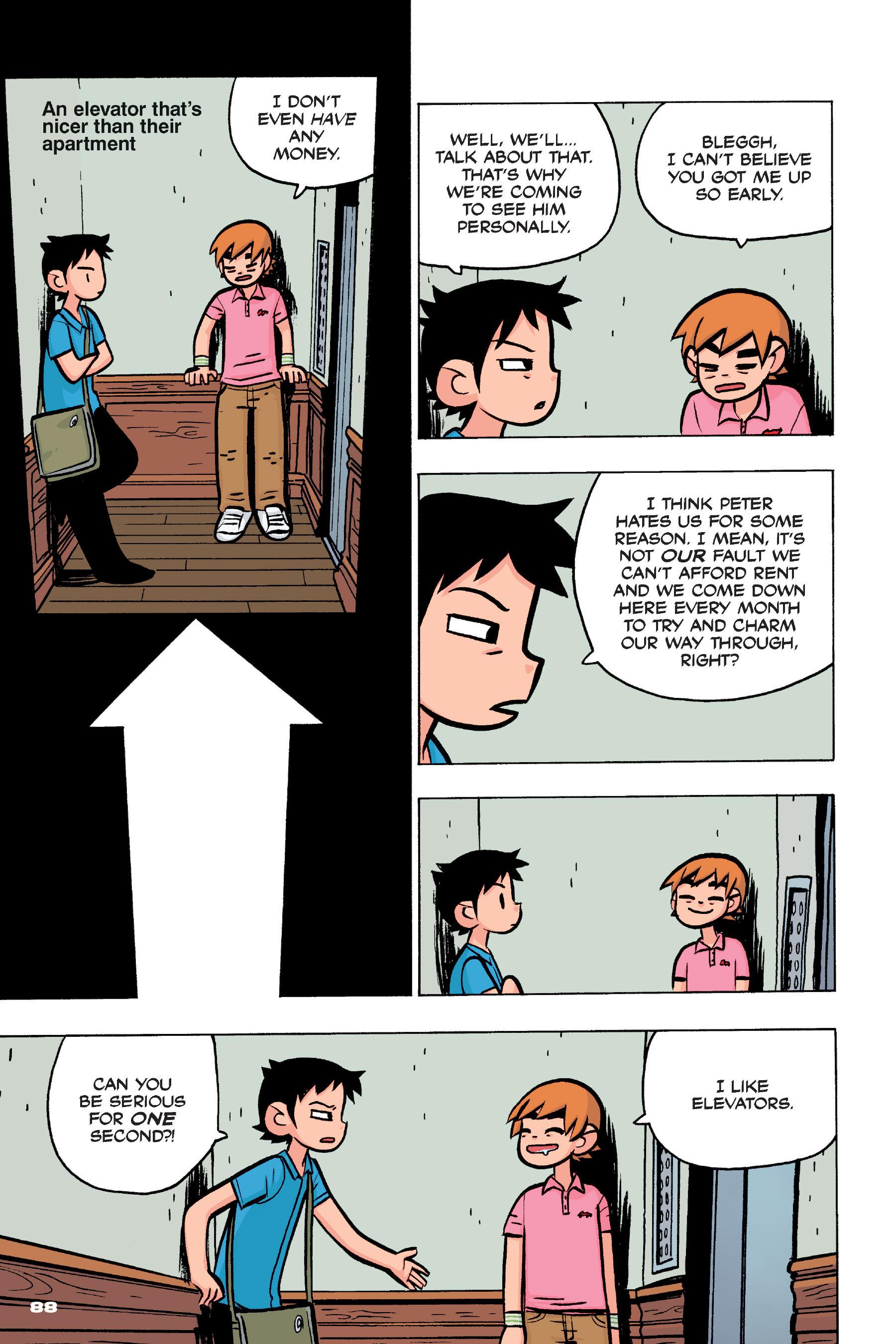 Read online Scott Pilgrim comic -  Issue #4 - 86