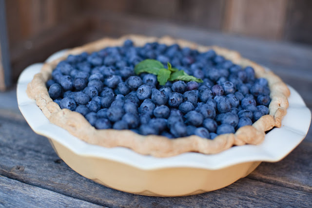 Blueberry Pie for Vintage Wedding Minneapolis