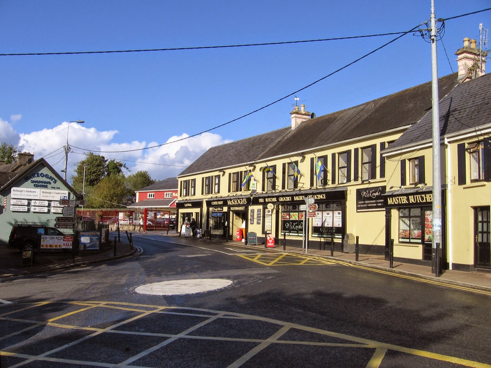 Ballina village in County Tipperary