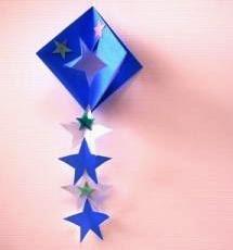 ... 七夕に星の折り紙飾り♪作り方