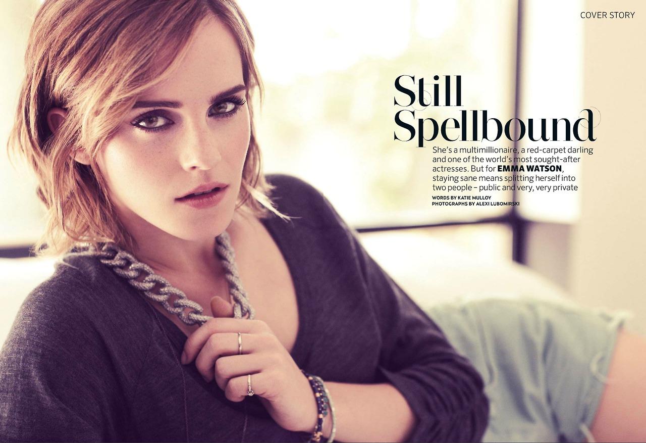 Top Emma Watson Updates: Emma Watson in magazines HB65