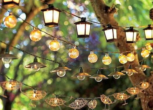 Metal y luz iluminaci n y dise o decorar e iluminar for Antorchas para jardin